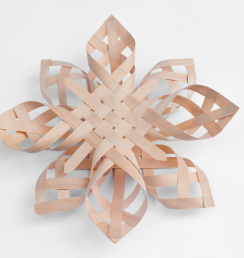"Misc-1. #845- Woven maple star (7"" and 12"")"